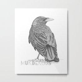 Murderous Metal Print