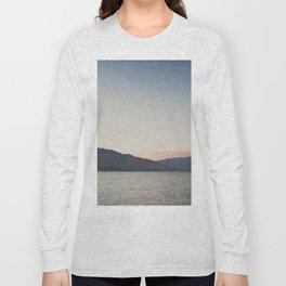 sunset over the lake ... Long Sleeve T-shirt