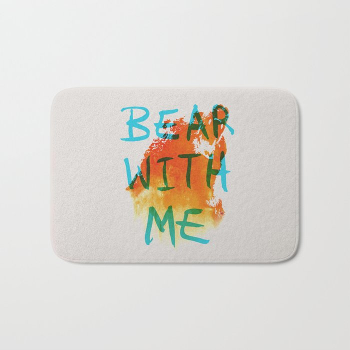 Bear With Me Bath Mat
