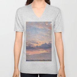"John Constable ""A Cloud Study"" 1. Unisex V-Neck"
