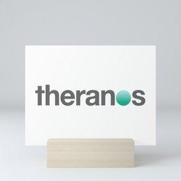 Theranos Mini Art Print