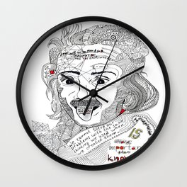 Einstein Wall Clock
