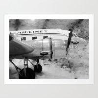 Galveston Air Museum II Art Print