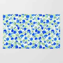 Floret (Blue) Rug