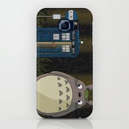 Allons-y Totoro alternate iPhone Case