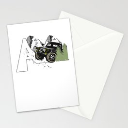 Off road, vehicle, gifts Stationery Cards