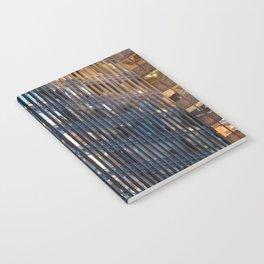 Manhattan Windows - Fire Notebook