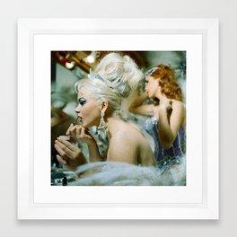 Las Vegas Showgirls 1960 Framed Art Print