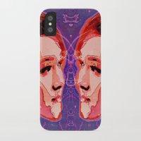 gemini iPhone & iPod Cases featuring Gemini by Steve W Schwartz Art