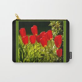 tulip impressions (square) Carry-All Pouch