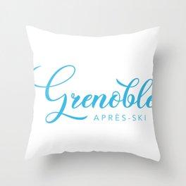 GRENOBLE Throw Pillow