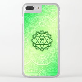 Heart Chakra by Golden Ascension Clear iPhone Case