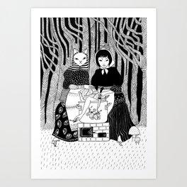 Cabbage soup Art Print