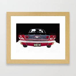 Vintage American Classic Car USA Framed Art Print