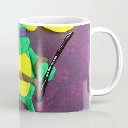 purple mask Turtle Coffee Mug