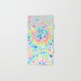 Rainbow Cubes & Diamonds Hand & Bath Towel