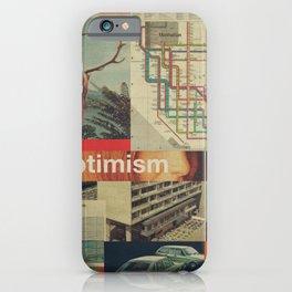 Optimism178 iPhone Case
