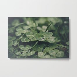 Happy St. Patrick Metal Print