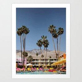 Palm Springs #society6 #decor #buyart Art Print