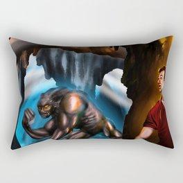 La bestia Rectangular Pillow