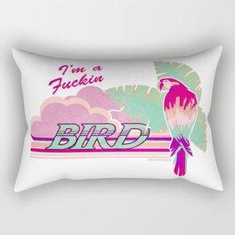 I'm a Bird! Rectangular Pillow