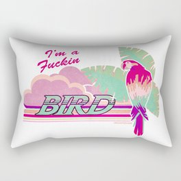 I'm a Bird! Rectangular Pillow