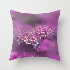 Dream in pink Throw Pillow