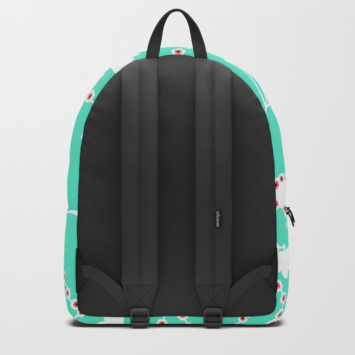 Branches in blue Backpack