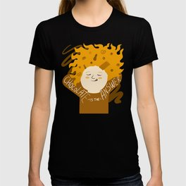 Chocolate is the answer T-shirt