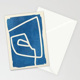 abstract minimal 57 Stationery Cards