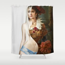 Destroy Your Reputation 2 Shower Curtain