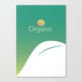 Organic product Canvas Print