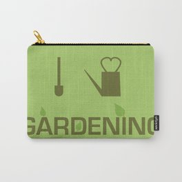 I heart Gardening Carry-All Pouch