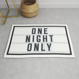 One Night Only Rug