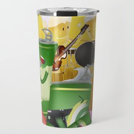 Rock & cheers Travel Mug