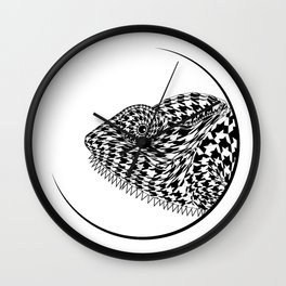 The Chameleon (Houndstooth) Wall Clock