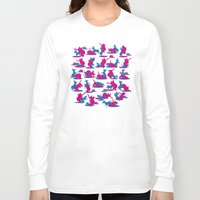 politics Long Sleeve T-shirts featuring Bipartisan Politics by Jeff Szuc