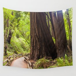 Muir Woods Path Wall Tapestry