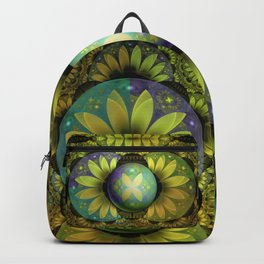 The Enchanted Feathers of the Golden Snitch Backpack