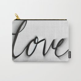 Love Blurred Lines Carry-All Pouch