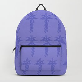 Medical ID Print (Blue) Backpack
