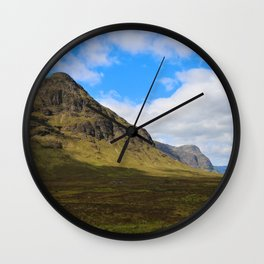 Highland Green Wall Clock