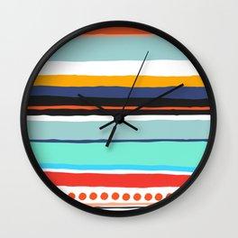 Pop Dot Line Wall Clock
