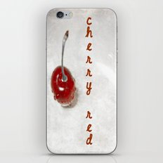 Cherry Red iPhone & iPod Skin