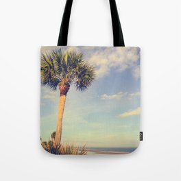 Palm Tree Paradise Tote Bag