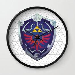 Link - Hyrule Shield - zelda Wall Clock