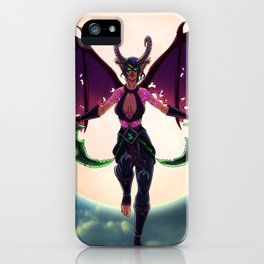 Demon Hunter iPhone Case