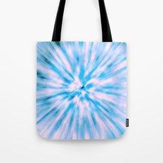 TIE DYE - LIGHT BLUE Tote Bag