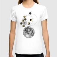 the moon T-shirts featuring Moon by J Arell