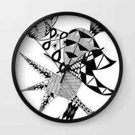 Tenacious Bird Wall Clock